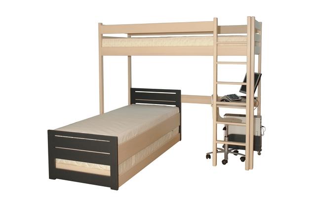 Zestaw Baggio, łóżko z biurkiem